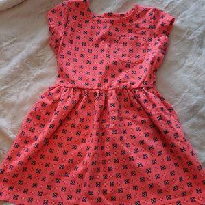 Girls springtime dress with pockets!
